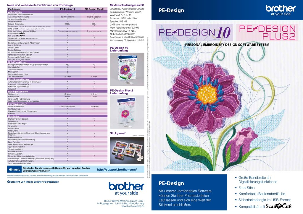 Brother Software Pe Design Plus 2