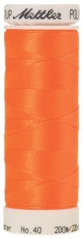 Mettler Stickgarn Poly Sheen Farbe 1106 Orange,Länge 200 m, ART.-NR. 3406 No. 40