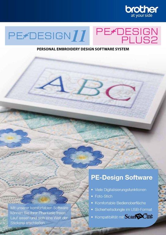Brother Software Pe Design Upgrade Ped 5 6 7 8 Next To Pe Design 11 Stick
